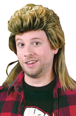 Brand New 1980's Mullet Costume Wig