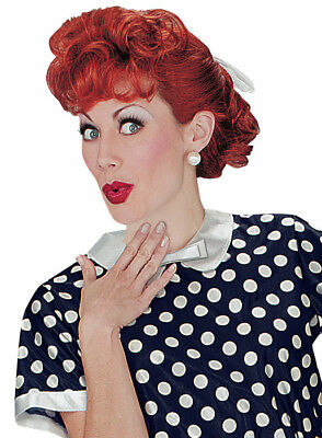 Brand New Lucille Ball I Love Lucy Halloween Costume Wig