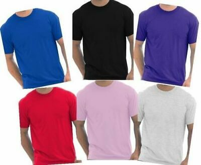 Gildan Cotton Plain Blank Cheap Work Short Sleeve Mens Plain T-shirt Size S-XXL