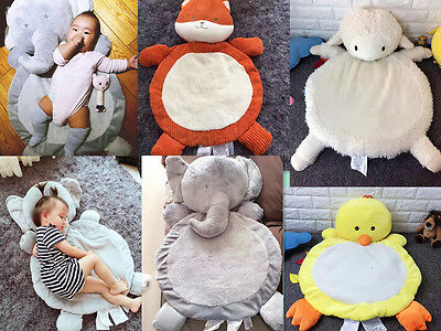 Baby Play Plush Mat Soft Carpet Toy Mats Rug Cushion Crawling Pads Floor Blanket