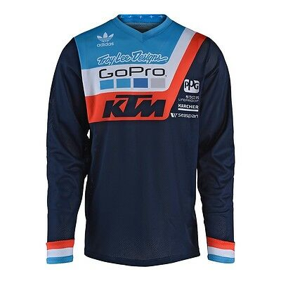 Troy Lee Designs GP Air Motocross Jersey - PRISMA TEAM NAVY - All Sizes