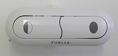 NEW - Fowler Newport/Consort Buttons & Bezel Set White 850659W