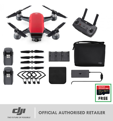 NEW DJI SPARK Fly More Combo Alpine White LIMITED STOCK - Genuine DJI AUS Dealer
