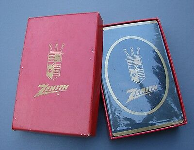 Antique Zenith Playing Cards Sealed In Box