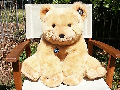 "Vintage Gund-Collectors Classic-Ex. Large Honey Bear-27 1/2""-#2184-1979-All Tags"