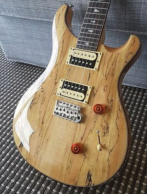 PRS SE Custom 24 Spalted Maple 2017 Exotic Top Electric Guitar