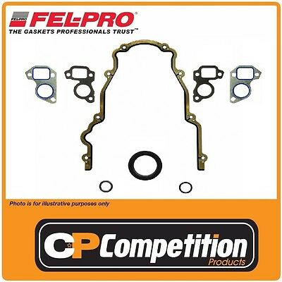 Fel-pro Front Timing Cover Gasket & Seal Set Holden Commodore HSV LS1 LS2 LS6