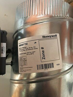 "Honeywell TrueZONE 7"" ARD Round Supply Damper ARD7TZ/U L81-622 24V 40F to 140F"