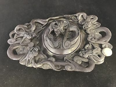 Chinese Antique Vintage Reproduction Ink Stone 端硯