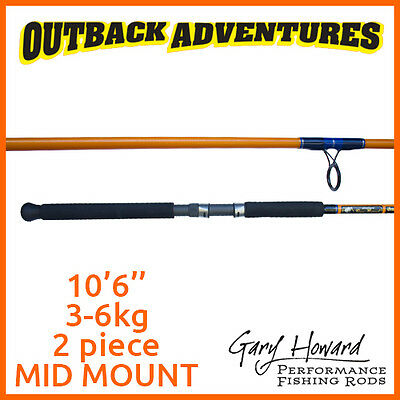 Gary Howard Breambo 5W 10'6'' Fishing Rod 10Ft6 3-6Kg 2 Piece Mid Mount