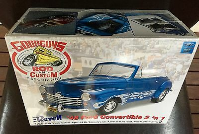 Revell 1:25 '48 Ford Convertible 2 'n 1 Still In Shrink Wrap Good Guys Rod