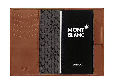 106815 Montblanc / Diaries & Notes / agenda piccola / pelle marrone