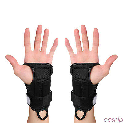Wrist Support Glove Sport Protective Gear Hand Protector Guard Pads 1 Pair sp9
