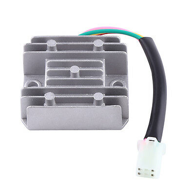 4 Wire 4 Pin 12V Voltage Regulator Rectifier 150-250 cc Motorcycle Scooter Moped