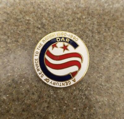 DAR Centennial pin Daughters of the American Revolution