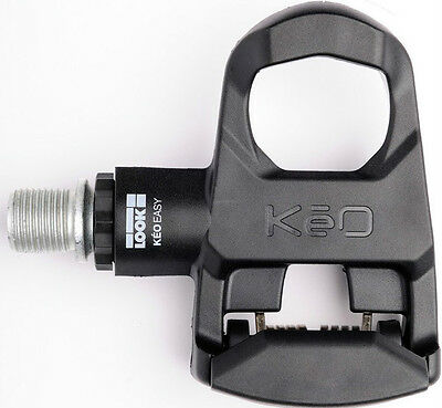 "LOOK KEO Easy Pedals Black Road Bike Bicycle Clipless Beginner Pedal 9/16"" NEW"