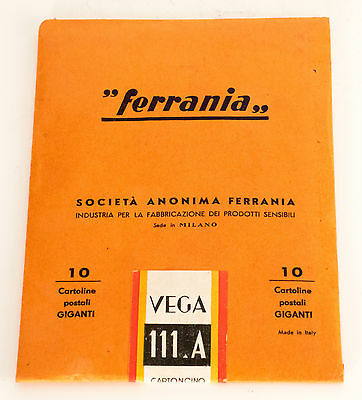 Ferrania 1 Pack Bromide Paper (Normal). Giant Postal Card Format