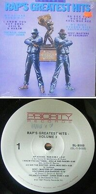 [LP] Raps' Greatest Hits,Vol.3 (Priority) {NM} USA
