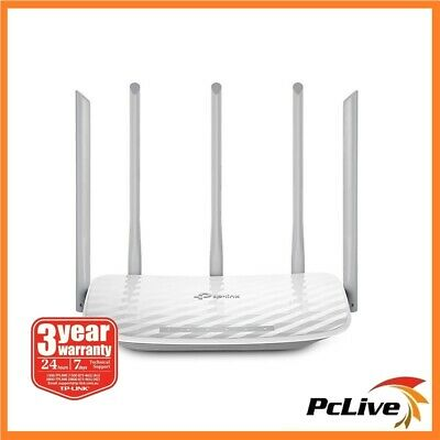 TP-Link Archer C60 Dual Band AC 1350Mbps Wireless Router 5GHz Parental Control