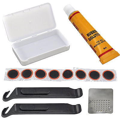 Bicycle Cycle Bike Puncture Repair Outfit Patched Kit CT H7A5 Q1P5 N4F0 W2G1