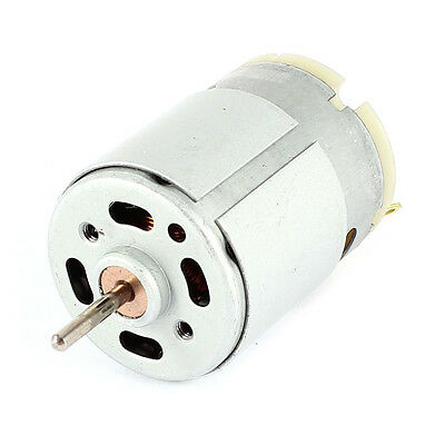RS380 DC 1.5-18V 30000RPM Micro Motor 38x28mm for RC Model Toys DIY, Silver M3P8