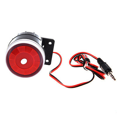 Wired Mini Siren for Home Security Alarm System Horn Siren 120dB 12V CT A6Y X2N3