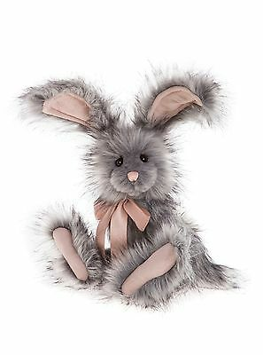 Bluebell is a plush fully jointed rabbit from Charlie Bear