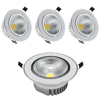 LED Recessed Ceiling Lights 3W 5W 9W 12W 15W Angle Adjustable COB Downlight Lamp