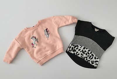 River Island Sweatshirt And Top Size 3-6 Months Baby Girls