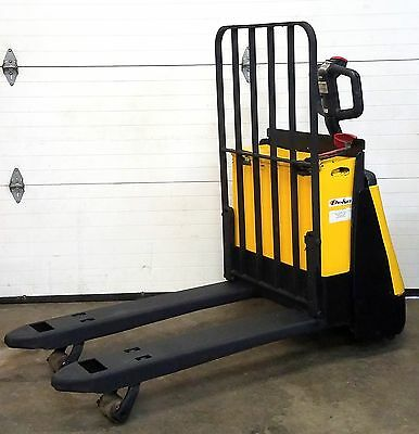Crown 24V Electric Pallet Jack Truck 4000 Lbs Capacity Equipment Moving