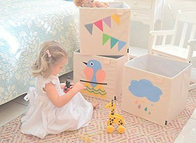 Kids Storage Bin Toys Books Cube Organizer Box
