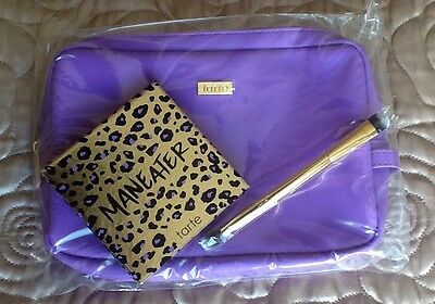 Tarte Maneater Eyeshadow Palette, Brush & Bag NEW & LIMITED EDITION