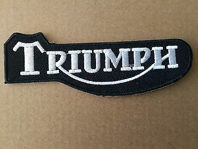 Triumph Motorcycle Design Style Sew Or Stick On  Patch