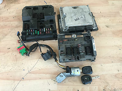 2003 Peugeot 307 Estate 2.0 Hdi Diesel Bosch Ecu Kit 0281010935 9650221480