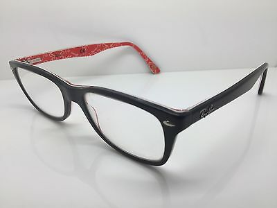 RAY BAN Black Full Rim Used Glasses Eyeglasses Eyeglass Frames