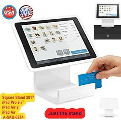 Square Creditcard Stand Apple iPad Payment Register Point Sale POS Tool 2017 USA