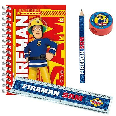 Fireman Sam Party Stationery Favours   Party Bag   Pencils   Erasers   20-120pk