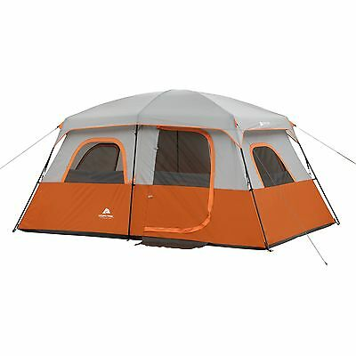 """Ozark Trail 13' x 9' with 76""""H Family Cabin Tent Sleeps 8"""