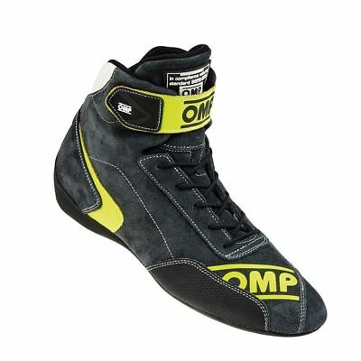 FIA OMP FIRST EVO Race shoes Anthracite rally boots Drive Leather 8856 2017