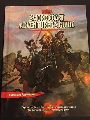 Free UK Shipping! Dungeons & Dragons RPG Sword Coast Adventurers Guide