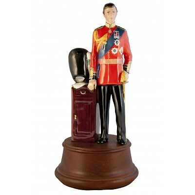 Royal Doulton HRH Prince of Wales HN2884 #1182 of 1500 Complete With Added Bonus