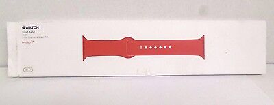 Genuine Apple Sport Band - 42mm - Red - MLDJ2ZM/A