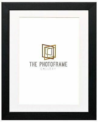 Photo Frame for Photos With Mounts Image Inserts White Mount Frame Black frames