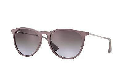 Ray-Ban RB4171 Erika 600068 Brown Silver Frame/Brown Violet Gradient Lens 54mm