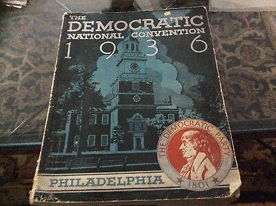 The Democratic National Convention, 1936