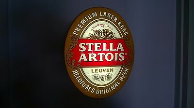 "Stella Artois Logo Beer Bar Pub Store Light Sign Neon,16""x12"",40x30cm"