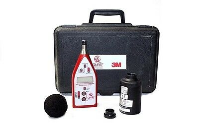 Quest Technologies 2200 Integrating-Averaging Sound Level Meter and Calibrator