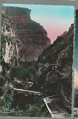France Postcard: French Riviera, Cote D'azur: Gorges Du Loup 1954 Mailed Italy
