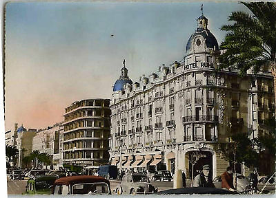 Postcard France 1954 - Nice - Hotel Ruhl - French Riviera - Cote D'azur