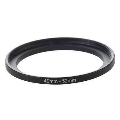 Camera Repairing 46mm to 52mm Metal Step Up Filter Ring Adapter A3A1 M7F4 D H8D2